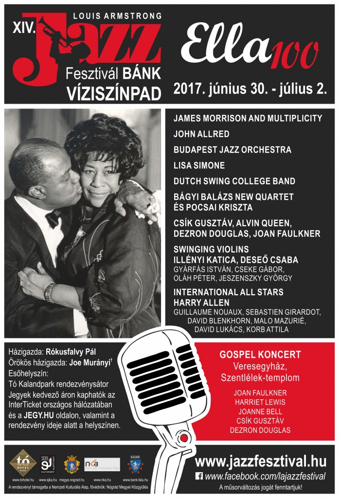 Louis Armstrong Jazzfestival poster